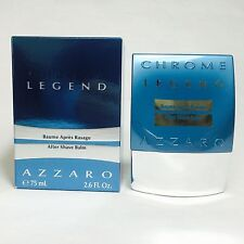 Azzaro Chrome Legend After Shave Balm for Men 75ml 2.6 oz
