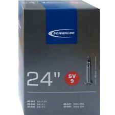 Schwalbe SV 9 Chambre à air vélo 24″ 24x1 1/8-1.75 ″ 28/47-507/541 sv40mm