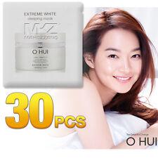 O HUI Extreme White Sleeping Mask 30pcs 30ml Night Treatments OHUI Newest Ver