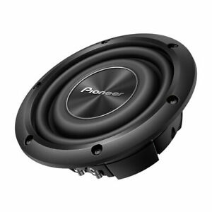 """Pioneer TS-A2000LD2 A-Series 8"""" Dual 2-Ohm Shallow-Mount Car Audio Subwoofer"""