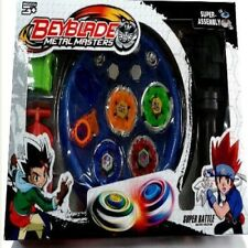 Bey Blade Arena Stadium Spinning Metal Fight Toy 4pcs Set Beyblade Beystadium