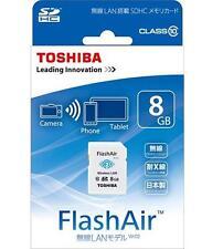 Toshiba 8GB Flash Air Card, 2 year Warranty and Fast Shipping (UK)