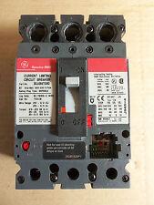 GENERAL ELECTRIC SELA SELA36AT0060 3 Pole 60 Amp 600 volt no rating plug Breaker