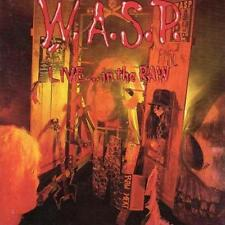 W.A.S.P. – Live... in the raw Label: Capitol records-UK (1987) - CD