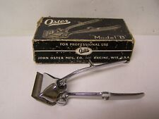 """VINTAGE OSTER HAND OPERATED HAIR CLIPPER MODEL """"B""""  SIZE 0000"""