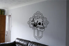 Skulls Wall Sticker Wall Art Decor Vinyl Decal Mural Sticker Skulls Huge!!