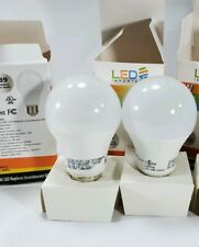 X2 800 Lumen LED 60w Light Bulb, Day Light 9w LED 2 Lights Bulb 6500k Home Ligh