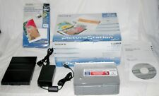 SONY DPP-FP30 Picture Station Photo Printer PictBridge USB & Cartridge Bundle