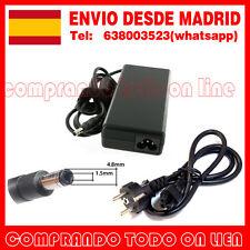 ADAPTADOR CARGADOR 18,5V 4.9A 90W PARA HP/COMPAQ DESDE MADRID 4,8mmx1,5mm