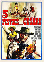 THREE GUNMEN AGAINST CESARE (1968) Most Bizarre Spaghetti Western w/English subs