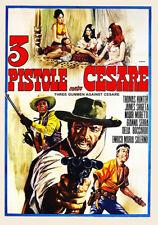 THREE GUNMEN AGAINST CESARE (1968) Most Bizarre Spaghetti Western  DVD NTSC NEW