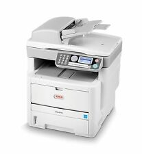 Oki MB470 A4 Multifunction Duplex Network USB Mono Laser Printer 470 JM