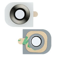 Brand New White Camera Lens Glass With Adhesive Replacement Part For LG G2
