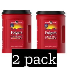 Folgers Classic Roast Ground Coffee (51 oz.) *2 Pack* *BestDeal* *Free Shipping*