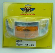 J&P Cycles Front Fender Marker Light Assembly (JP40-A) (R6)