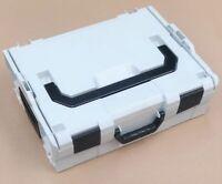 SORTIMO L-BOXX 136 Koffer Systemkoffer grau Werkzeug-Kasten REMS Kiste grau