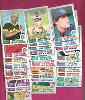 RARE 52 X 1982 OPC MAJOR LEAGUE BASEBALL PLAYERS  CARD (INV# C6345)