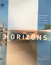 NEW Horizons French Textbook, 6th Edition, 9781285451008 Manley, Smith, McMinn