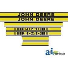 To fit John Deere 2040 tractor decal set hood decal