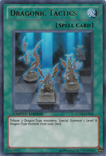 3x Yugioh SDBE-EN029 Dragonic Tactics Common Card
