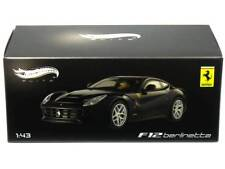 Hotwheels Elite 1:43 Ferrari F12 Berlinetta Blue X5501