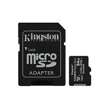Kingston Canvas Select Plus 64GB microSDXC Memory Card with SD Adapter