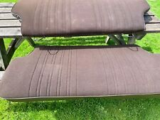 Ford Escort mk2 RS rear seats In Ford brown beta cloth