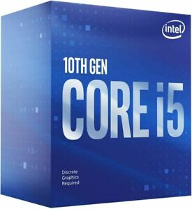 Intel Core i5-10400F Processor 2.9 GHz, 6 Cores (10th gen)