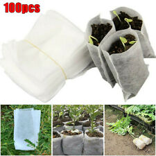 Plant Fiber Nursery Pots Seedling Raising Bags Plant Holder Home Garden Supply