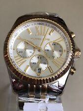 Lexington Cronógrafo Michael Kors MK5955 Madre de Perla Dos Tonos Reloj De Señoras