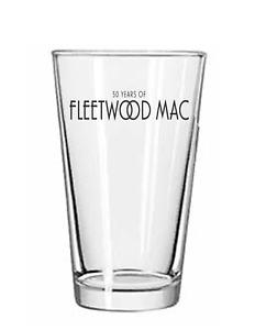 Fleetwood Mac - Rock and Roll 16 oz Pint Beer Tumbler Tea Glass 102