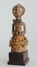 Beau Fétiche Songye sur socle Fetish Congo statue African Art Tribal Africain