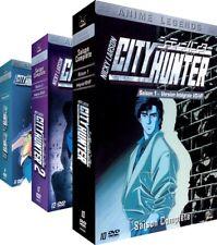 City Hunter Nicky Larson (DVD, 2011, 3-Coffrets) Version Non Censurée