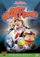 THE GREAT MUPPET CAPER DVD - KERMIT'S 50TH ANNIVERSARY EDITION - NEW UNOPENED
