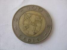 New listing 100 CEDIS 1997 GHANA
