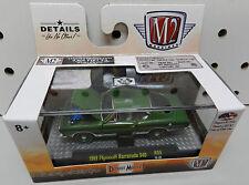 PLYMOUTH 1969 GREEN CUDA BARRACUDA 340 FASTBACK MOPAR R35 16-20 9,800 M2