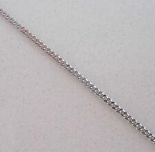 Collares y colgantes de joyería blanca de oro blanco de 9 quilates