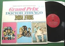 Themes From Motion Pictures Grand Prix Doctor Zhivago Born Free MFP 1243 LP