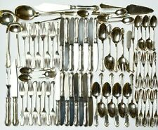 Wilkens Besteck Dresdner Barock 800 Silber 78 Teile nicht komplett 4005 g