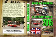 3143. Stockport. UK. Buses. July 2015. One of the largest UK bus stations and fr