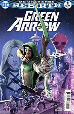 Green Arrow Comic 1 First Printing DC 2016 Percy Schmidt