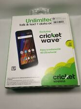 "Cricket Wireless Wave Smartphone 16GB 5"" Display 1500mAh 8MP"