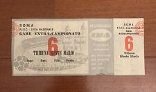 Biglietto Finale Coppa Italia Napoli Verona 1975/76