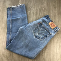 Levis 501XX Vintage Jeans Mens Size 36x34 Denim 100% Cotton Button Fly Straight