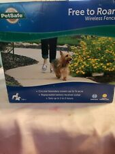 PetSafe Free to Roam 3/4 Acre Wireless Pet Containment System Pif00-15001 Read