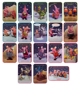 THE CLANGERS Happy Birthday Celebration Quality Cards Multicoloured 17cm x 12cm