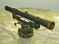 Vintage Keuffel and Esser Level Transit Survey Scope Theodolite Antique