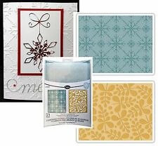 Sizzix embossing folders - Branches and Snowflakes embossing folder set 657251