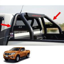 Short Roll Bar Steel Hamer Matte Black HR-1601 Fits Nissan NP300 Truck 2015 - 17