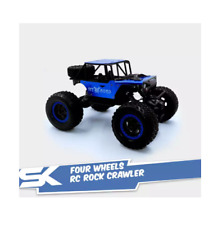 699-127A Four Wheels RC Rock Crawler with 4.8V/700MAh Rechargeable - Blue